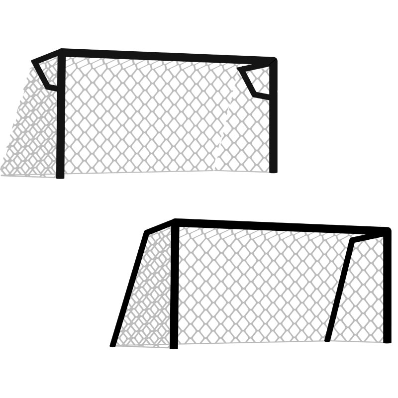 Harrod Sport Standard Profile Football Nets 12ft x 6ft