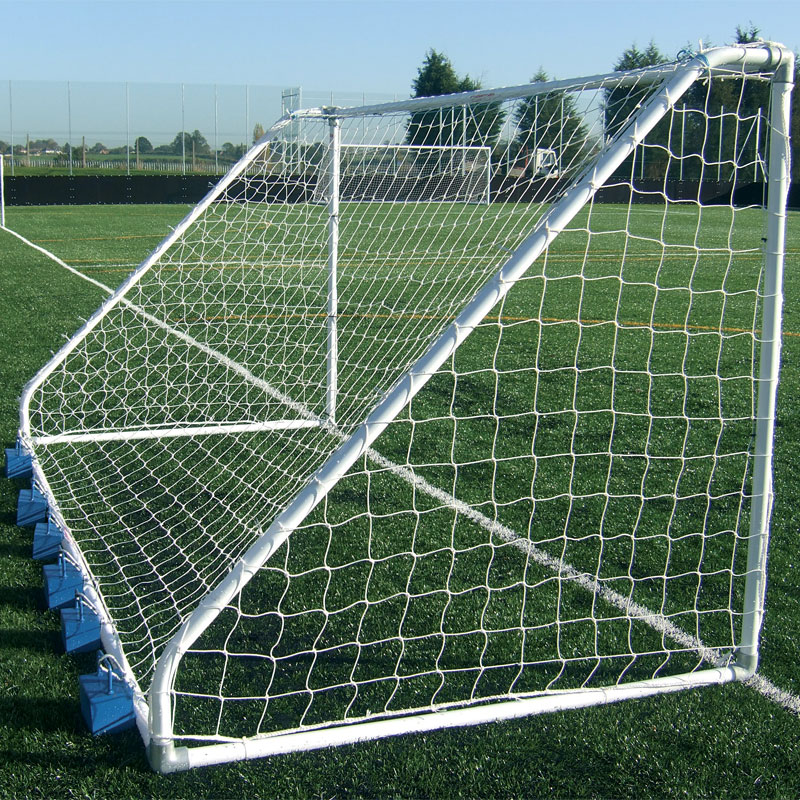 Harrod Sport 16ft x 6ft Freestanding Heavy Duty Steel Football Posts