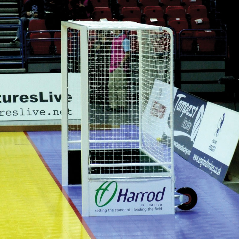 Harrod Sport Aluminium Heavy Duty Indoor Hockey Goal Posts