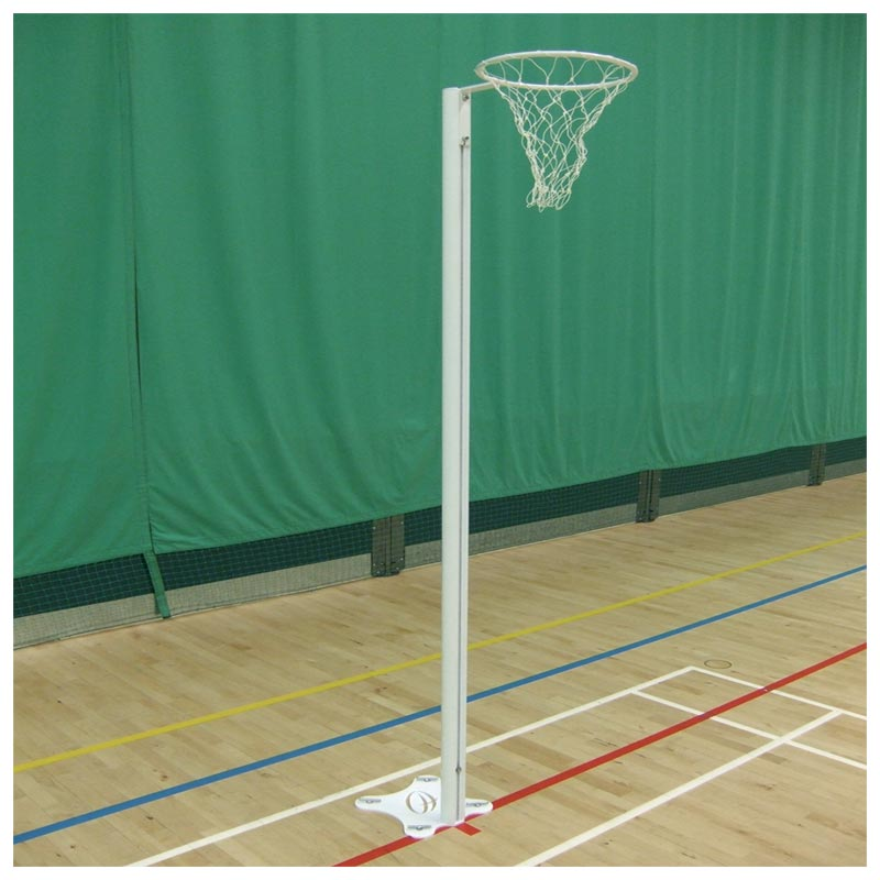 Harrod Sport Floor Fixed International Netball Posts