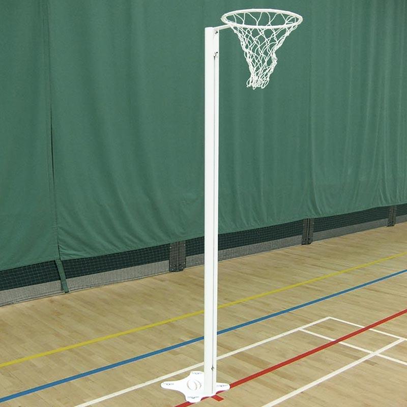 Harrod Sport Floor Fixed International Netball Posts