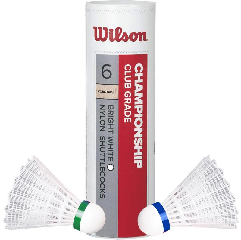 Wilson Championship Shuttlecocks 6 Pack
