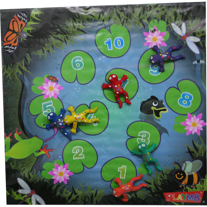 PLAYM8 Lilypad Playmat and Frogs