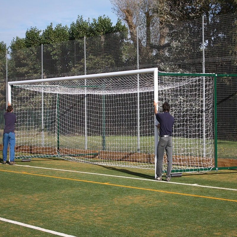 Harrod Sport 16ft x 7ft 3G Fence Folding Football Posts