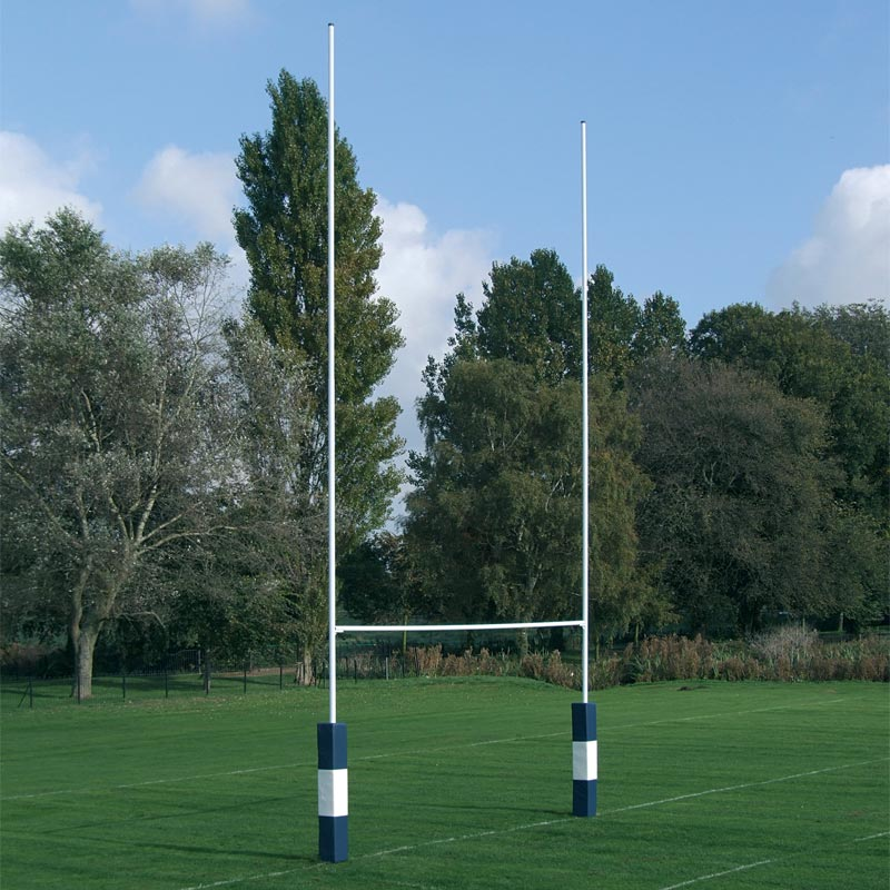 Harrod Sport Hinged No2 Steel Rugby Posts