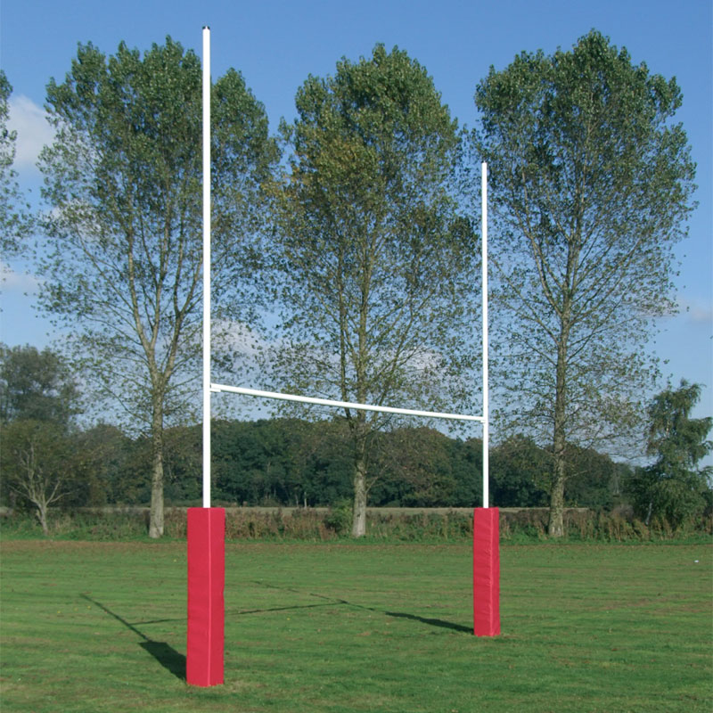 Harrod Sport Hinged No3 Steel Rugby Posts