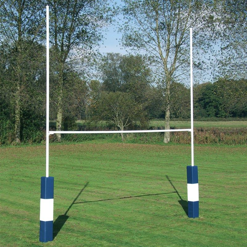 Harrod Sport Socketed Heavy Duty Steel Rugby Posts