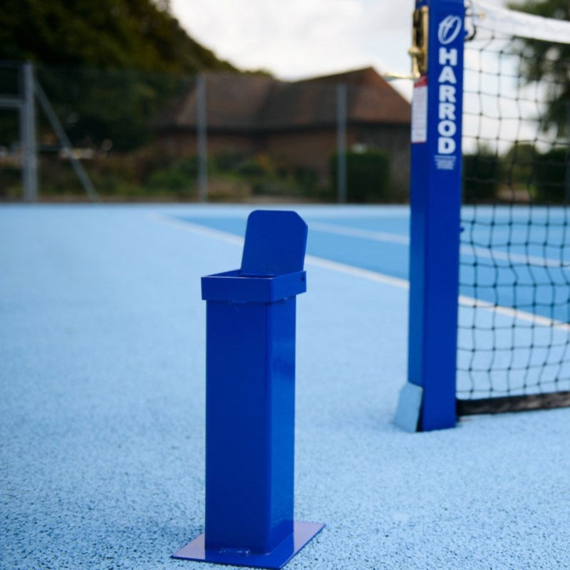 Harrod Sport Socketed Steel Mini Tennis Posts