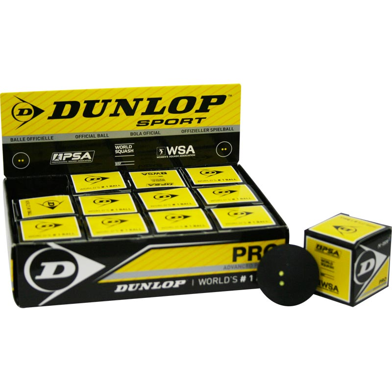 Dunlop Pro Squash Ball Single