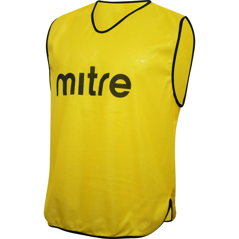 Mitre Pro Training Bib Yellow