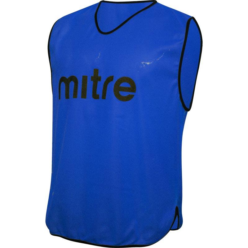 Mitre Pro Training Bib Blue