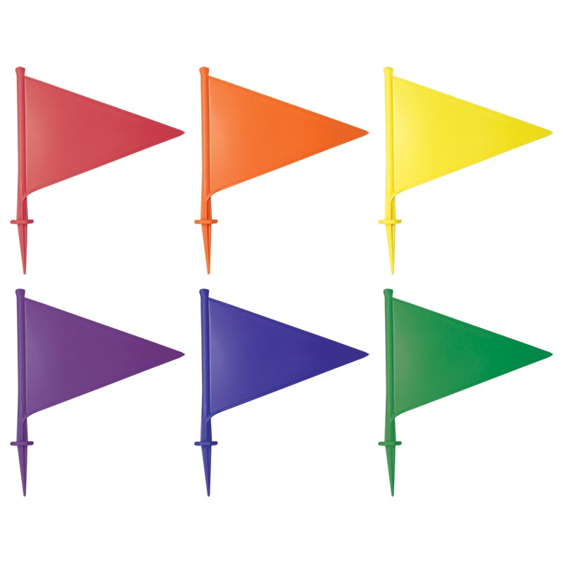 PLAYM8 Plastic Marking Flags