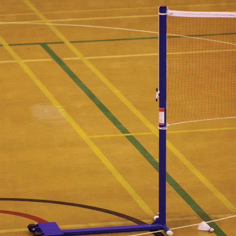 Harrod Sport Wheelaway Schools Training Badminton Posts