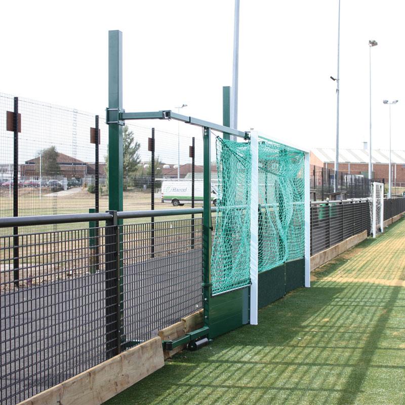 Harrod Sport Fence Folding Hockey Goal Posts