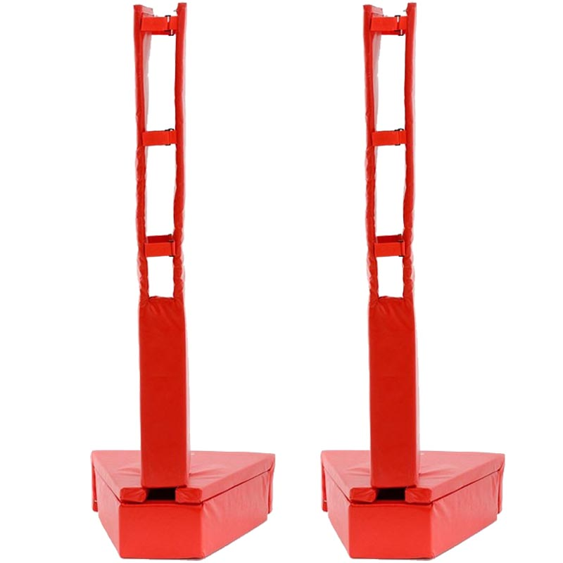 Harrod Sport Competition Telescopic Volleyball Post and Base Protectors