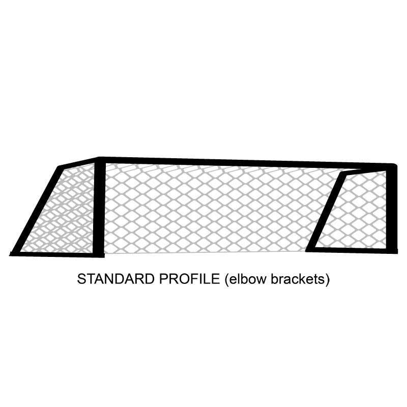 Harrod Sport Pro Shot Football Polygoal Net 5 v 5