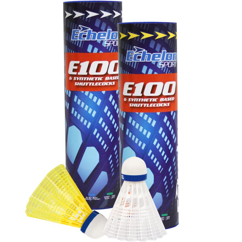 Echelon E100 Badminton Shuttlecocks