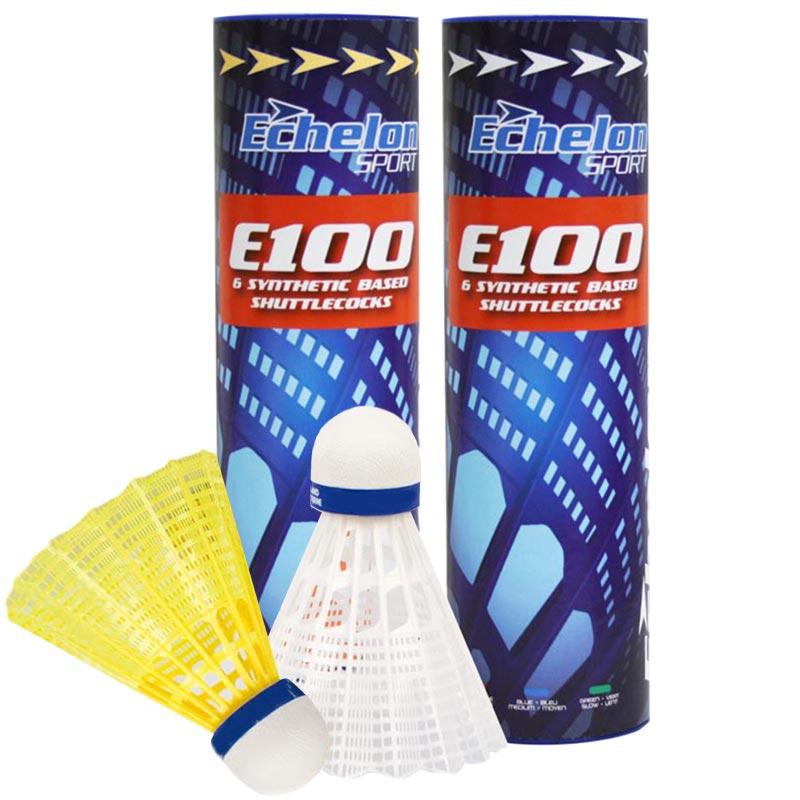 Echelon E100 Badminton Shuttlecocks