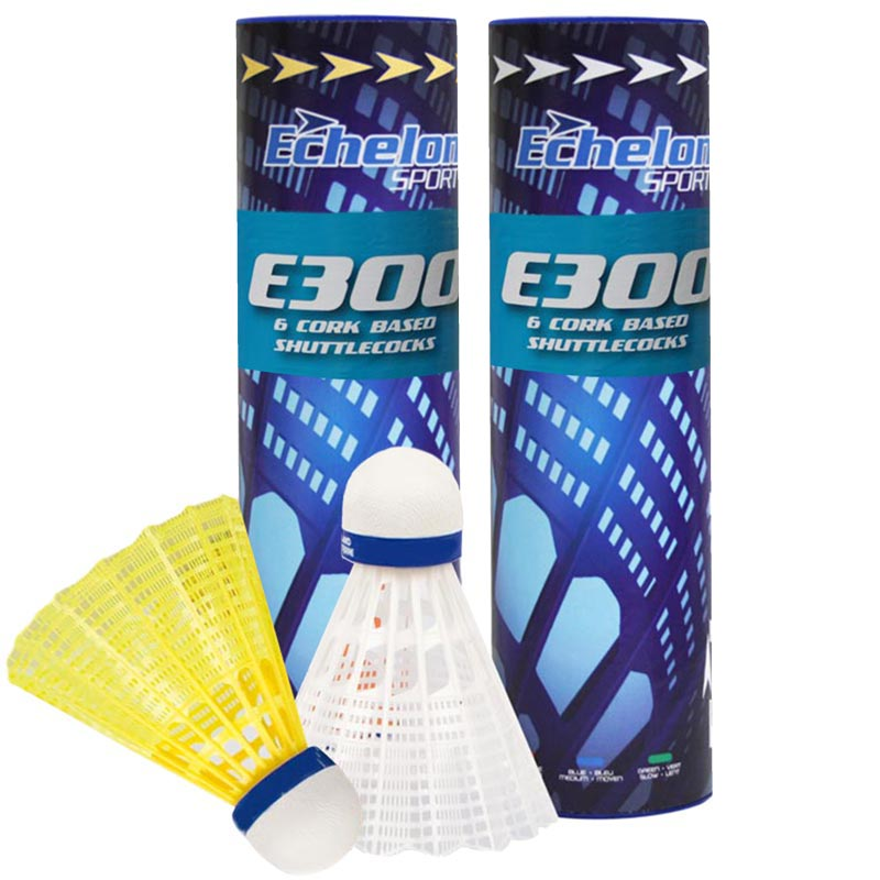 Echelon E300 Badminton Shuttlecocks