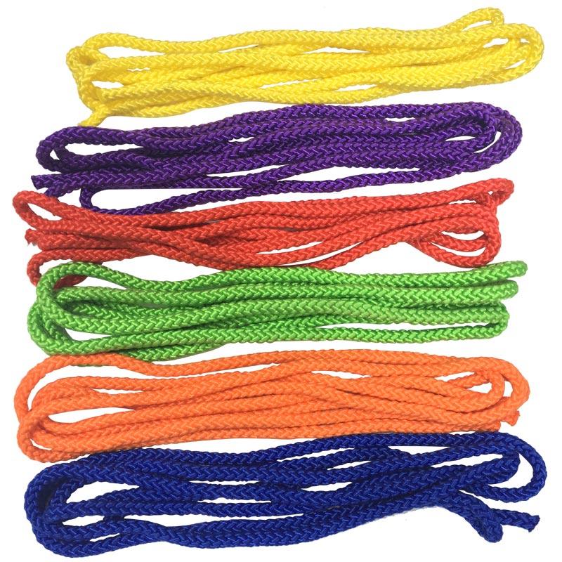 PLAYM8 Braided Skipping Rope 6 Pack 3m