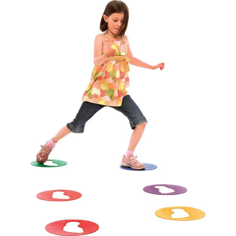 PLAYM8 Cutout Feet Spots 6 Pack