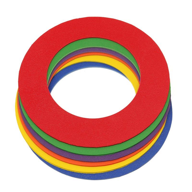 PLAYM8 Doughnut Ring 6 Pack 20cm