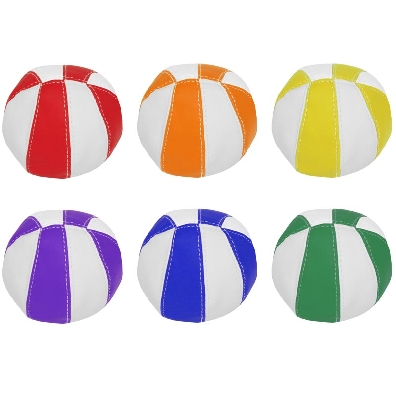 PLAYM8 Bean Bag Balls 6 Pack 9cm