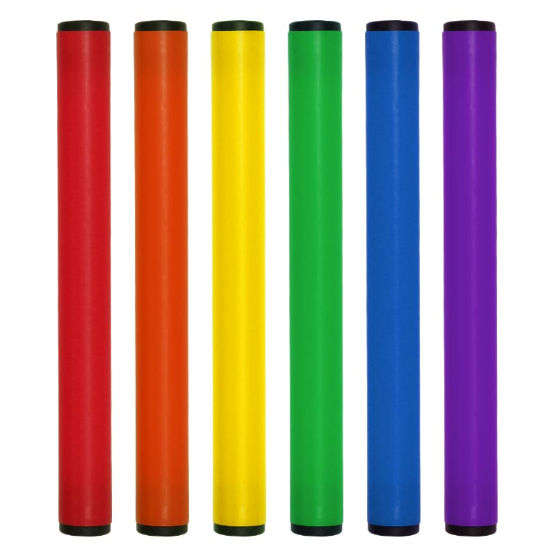PLAYM8 Relay Batons 6 Pack