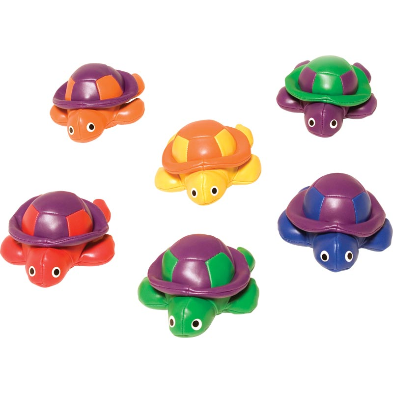 PLAYM8 Bean Bag Turtles 6 Pack