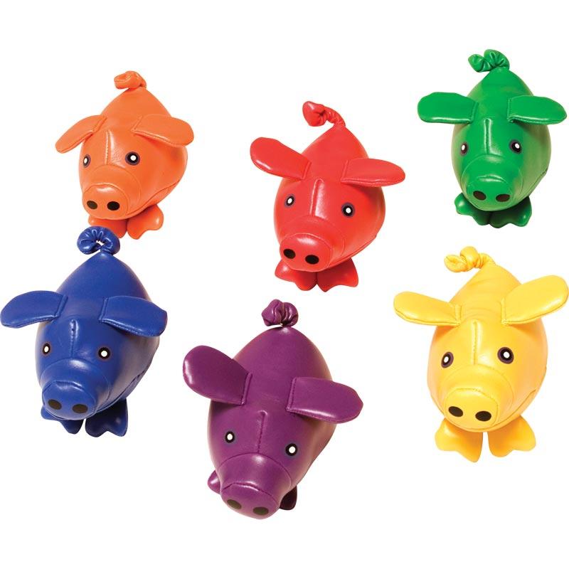 PLAYM8 Bean Bag Pigs 6 Pack