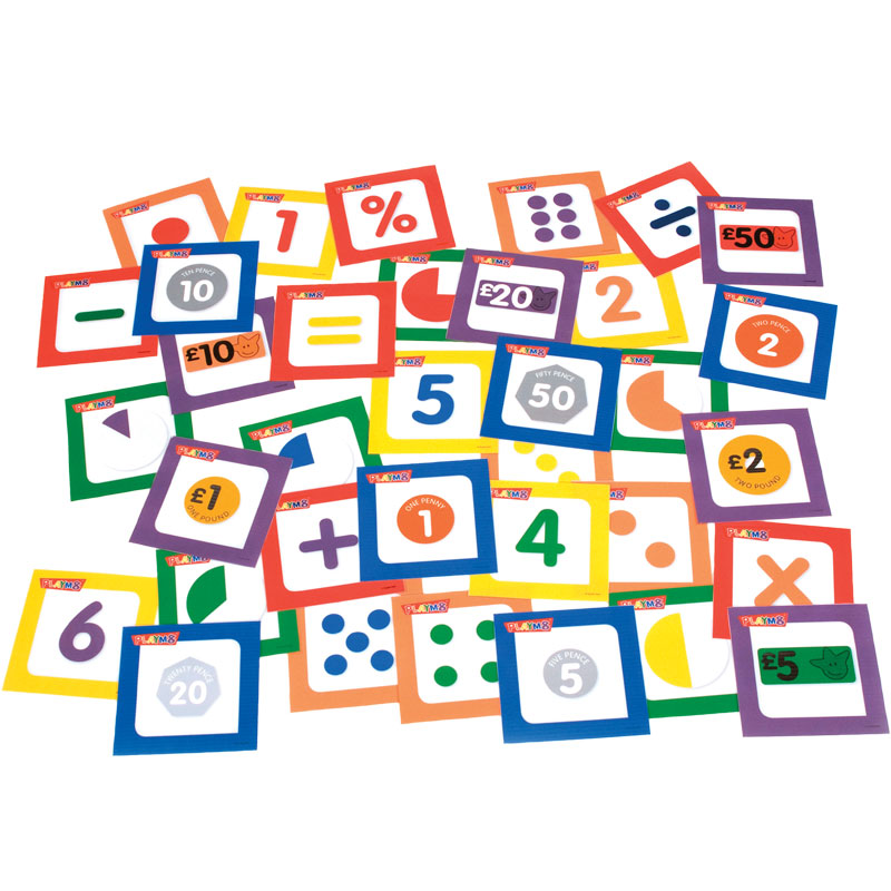 PLAYM8 Instruction Cube Numeracy Cards
