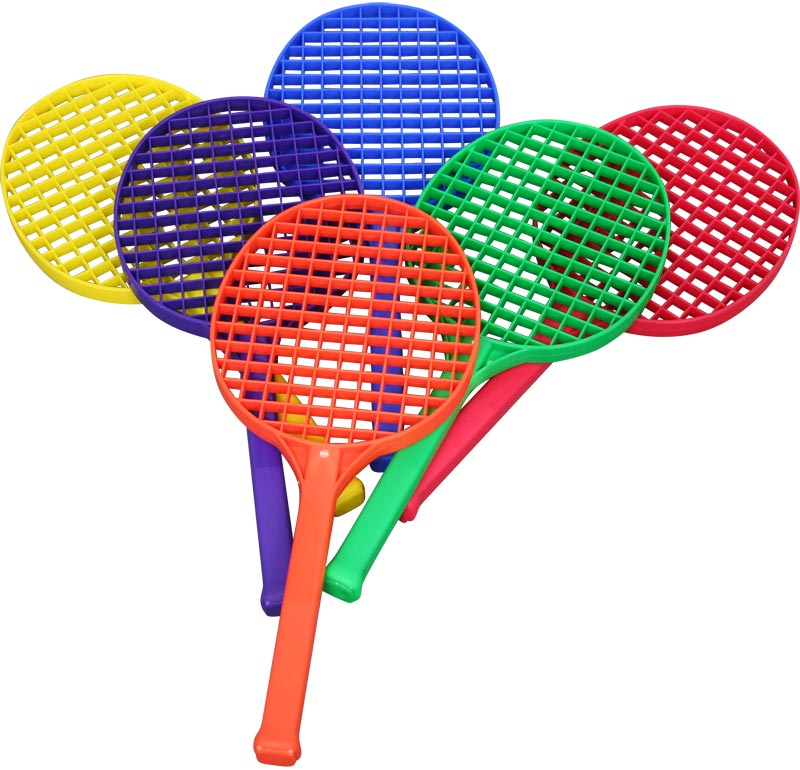 PLAYM8 LTA Racket 6 Pack