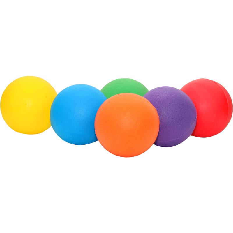 PLAYM8 Standard Foam Ball 6 Pack 20cm