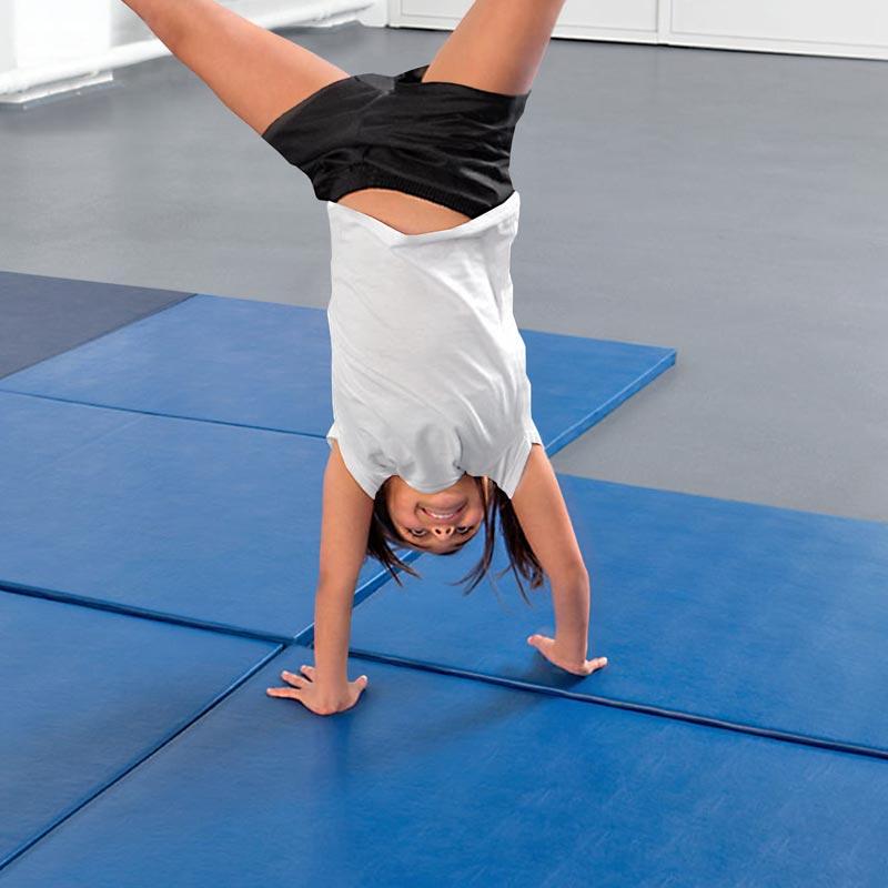 Beemat Gymnastic Mat Deluxe Chipfoam 6ft x 4ft
