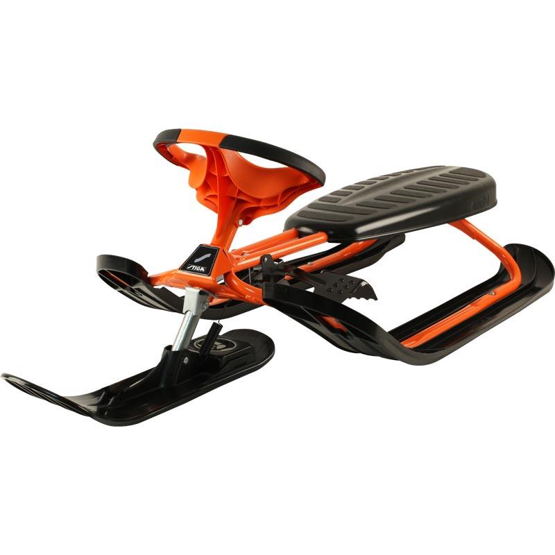 Stiga Snowracer Force Sledge Orange