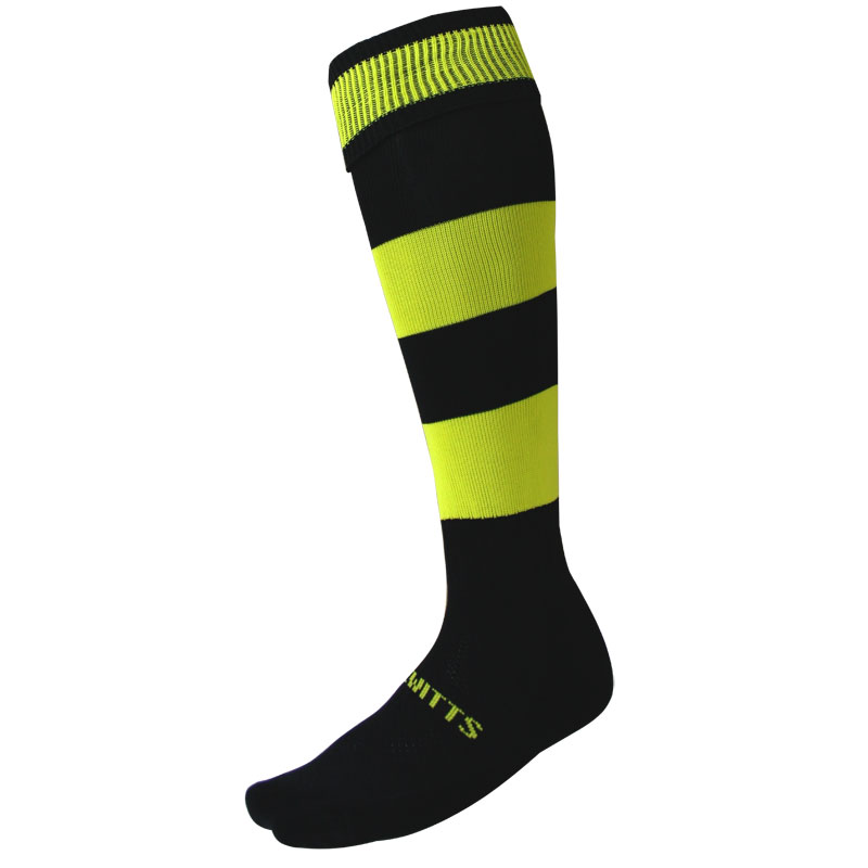 Ziland Team Hooped Football Socks