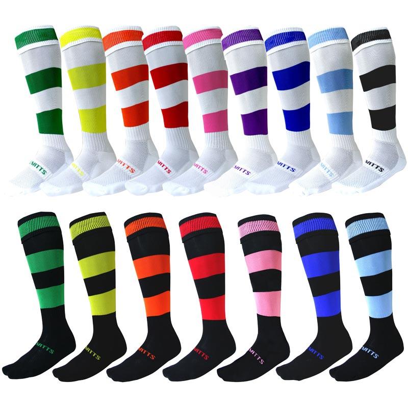 Ziland Team Hooped Football Socks