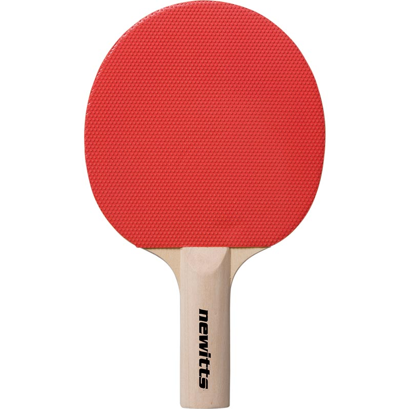 Table Tennis Bat Pimpled With Sponge Rubber