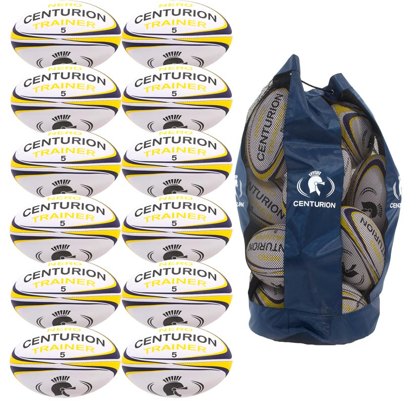 Centurion Nero Training Rugby Ball 12 Pack