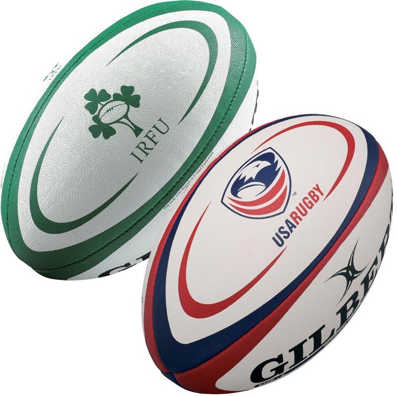 Gilbert International Training Rugby Ball