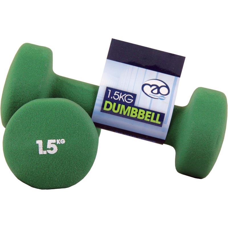 Fitness Mad Neoprene Dumbbells