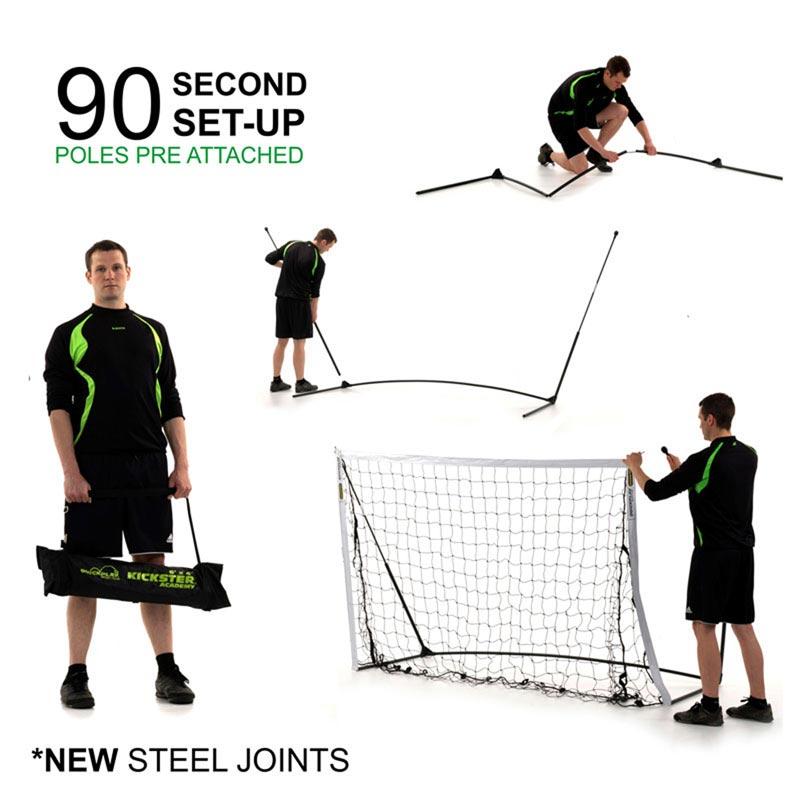 Quickplay Kickster Academy Goal 8ft x 5ft