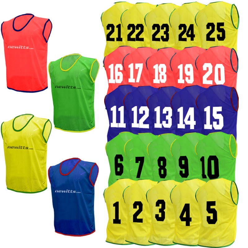 Numbered Training Bibs