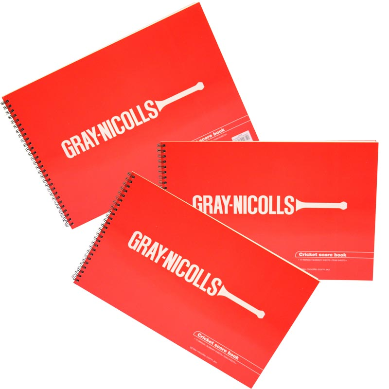 Gray Nicolls Cricket Scorebooks