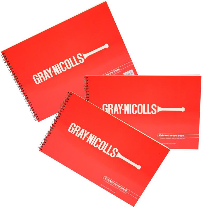 Gray Nicolls Cricket Scorebooks