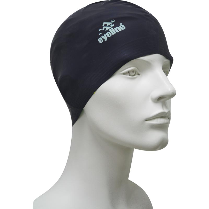 Eyeline Senior Latex Swimming Cap Black