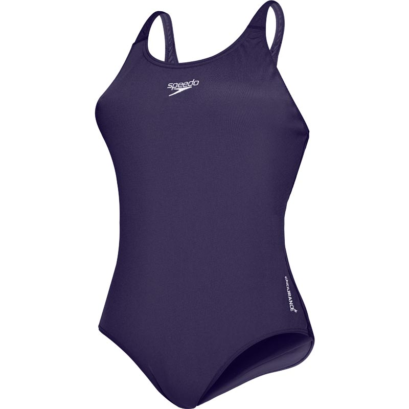 Speedo Endurance+ Medalist Swimsuit Navy