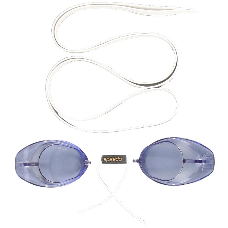 Speedo Swedish Swimming Goggles White/Blue