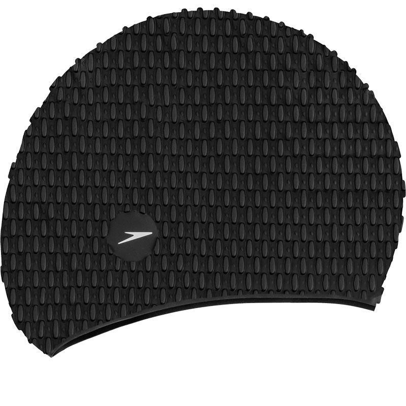 Speedo Senior Bubble Swimming Cap Black