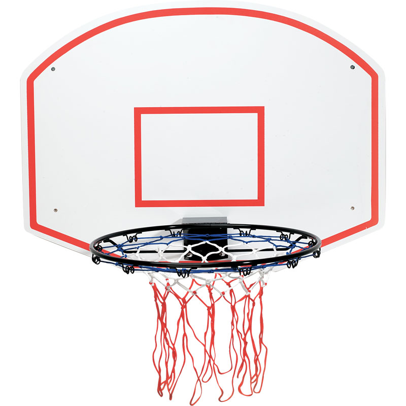 Basketball Ring and Backboard Set